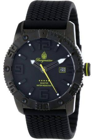 Burgmeister Zegarek na rękę BLACK! Pasek 45 mm Durchmesser