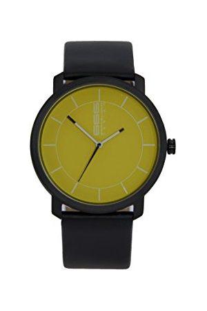 666Barcelona Męski analogowy zegarek kwarcowy ze skórzanym paskiem 66-325