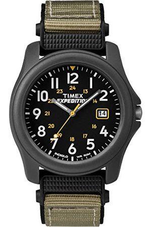 Timex Kwarcowy zegarek kempingowy unisex z tarczą analogowym wyświetlaczem cyfrowym i nylonowym paskiem pasek Jeden rozmiar