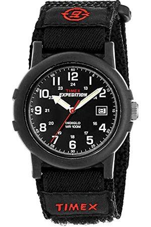 Timex Męski zegarek na rękę analogowy kwarcowy nylon Taśma Black Fastwrap