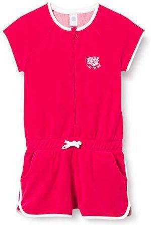 Sanetta Dziewczęcy kombinezon czerwony piżama