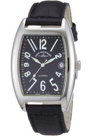Zeno Unisex zegarek na rękę Tonneau OS analogowy automatyczny skóra 8080-a1