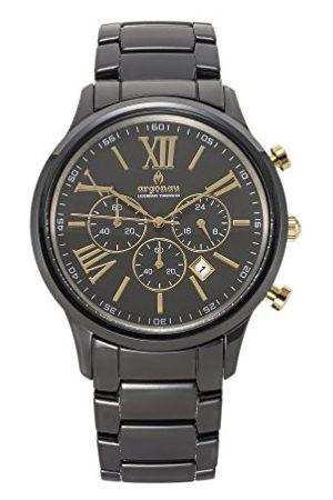 ARGONAU Uniseks dla dorosłych analogowy zegarek kwarcowy z ceramiczną bransoletką AU1050