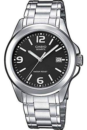 Casio Mężczyzna Zegarki - Męski analogowy kwarcowy ze stali szlachetnej zegarek na rękę MTP1259PD1A