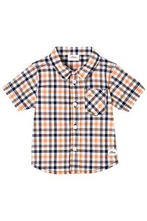 s.Oliver Sportowe Topy i T-shirty - Koszula dla małych dzieci z kołnierzem zapinanym na guziki