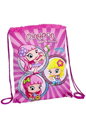 Pinypon 700016003 plecak ze ściągaczem, dla dzieci od 3 lat, różowy