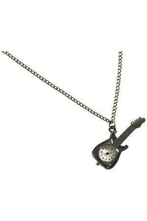 GEWA 980108 wisiorek uniseks gitara z zegarkiem, w zestawie łańcuszek