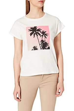 Mexx Damski t-shirt z Roll Up Sleeve