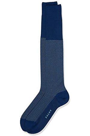 Falke Mężczyzna Krawaty - Podkolanówki Uptown Tie bawełna męskie czarne niebieskie wiele innych kolorów wzmocnione kolana ze wzorem, przepuszczające powietrze długie kolorowe, wysokie i ciepłe w kropki 1 para