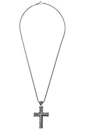 Burgmeister Burgmeister JBM1169-449 łańcuszek unisex z zawieszką ze stali nierdzewnej 50 cm
