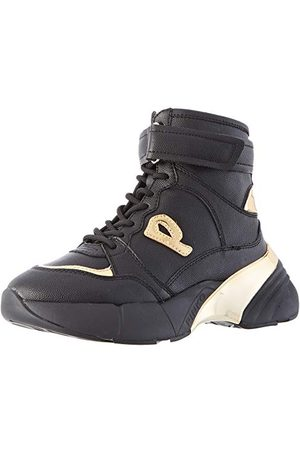 Pinko Damskie buty sportowe Lugano 1, Wielokolorowa Nero Oro Zh2-39 EU
