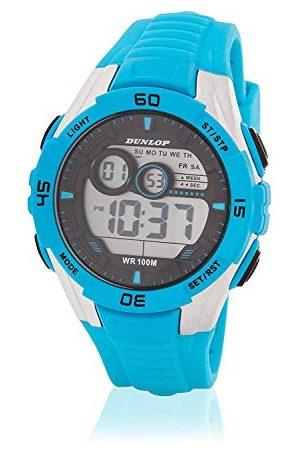 Dunlop Unisex DUN233G04 cyfrowy zegarek kwarcowy dla dorosłych z gumową bransoletką