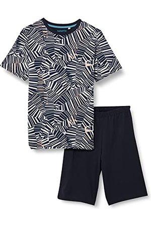 Sanetta Piżama chłopięca krótka szara piżama