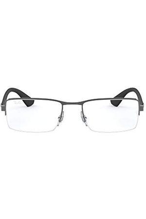 Ray-Ban Mężczyzna Okulary przeciwsłoneczne - Męskie oprawki 0rx 6331 2620 54, szare (matowe gunmetal)