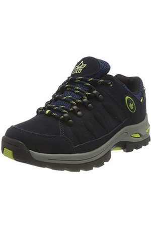 LICO Unisex Grenoble Cross buty do biegania, - Marine Lemon - 46 EU