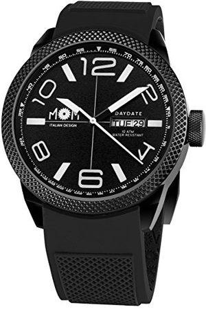 M.O.M. Manifattura Orologiaia Modenese Męski analogowy zegarek z silikonowym paskiem PM7000-91