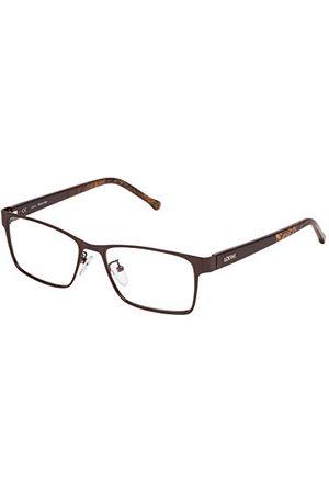 Loewe Unisex dla dorosłych VLW484M540K05 oprawki okularów, brązowe (Shiny Antique Brown), 55