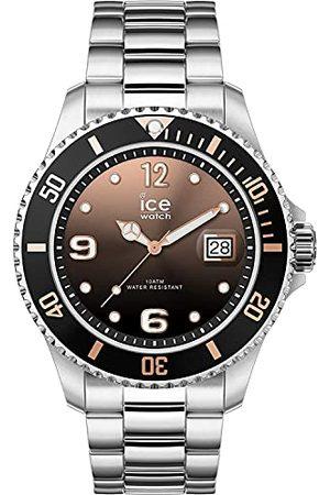 Ice-Watch ICE steel Black sunset silver - srebrnoszary zegarek damski z metalową bransoletką - 016768 (Medium)