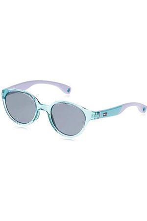 Tommy Hilfiger Unisex dziecięce okulary przeciwsłoneczne TH 1424/S BN Y88 43, zielone (Green Lilac/Grey)