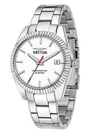 Sector No Limits męski analogowy zegarek kwarcowy z bransoletką ze stali nierdzewnej R3253240012