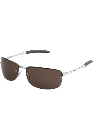 Burgmeister SBM124-112 prostokątne okulary przeciwsłoneczne, - Silver - jeden rozmiar