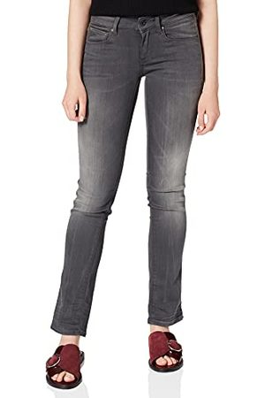 G-Star Damskie jeansy Attacc Mid Straight Wmn