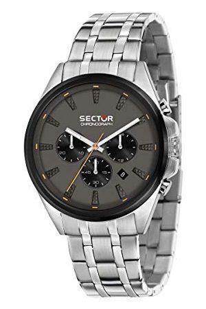 Sector No Limits męski analogowy zegarek kwarcowy z bransoletką ze stali nierdzewnej R3273991003