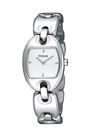 Pulsar Zegarki damskie zegarek na rękę nowoczesny analogowy kwarcowy stal szlachetna PJ5399X1