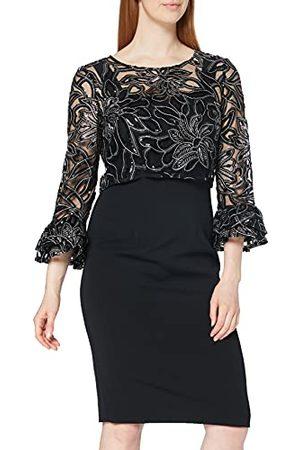 Gina Bacconi Sukienka koktajlowa z haftowaną sukienką typu overtop