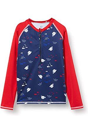 Steiff Chłopiec Sportowe Topy i T-shirty - Koszulka piłkarska dla chłopców, zestaw do pływania