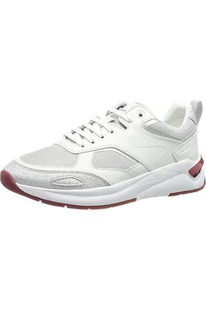 HUGO BOSS Damskie buty typu sneaker Skylar Lace Up_shny, - Silver41-41 EU