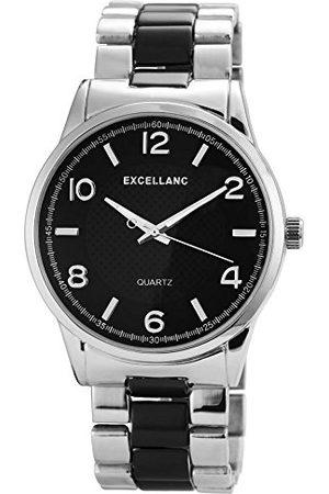 Excellanc Męski zegarek na rękę XL analogowy kwarcowy różne materiały 28091100003
