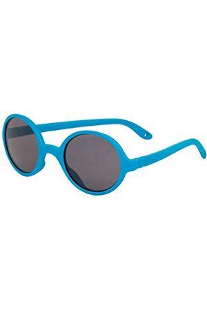 Ki ET LA Okulary przeciwsłoneczne - Unisex dziecięce Gafa de Sol años Blue Redondas okulary przeciwsłoneczne Little Kids 2-4 lata niebieskie okrągłe, Bleu Medium