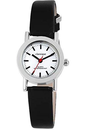 Classique Męski analogowy zegarek kwarcowy ze skórzaną bransoletką 10032200028