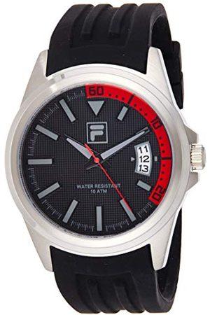 Fila Unisex Dorośli Analogowy zegarek kwarcowy z silikonowym paskiem 4.89518E+12