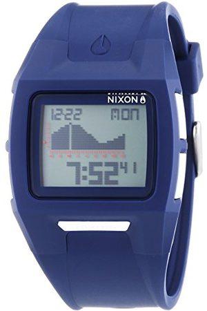 Nixon Męski zegarek na rękę XL Lodown II Navy Digital Quarz Plastik A289307-00