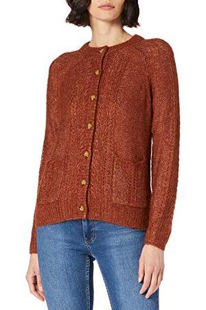 Noa Noa Damski sweter Essential Melange Mohair, długi rękaw