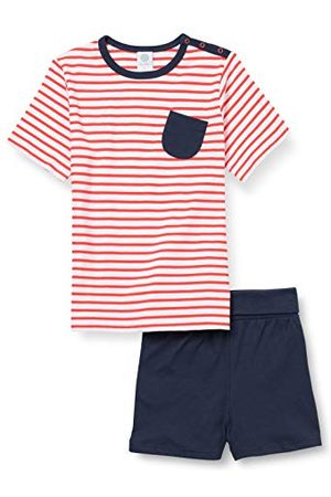 Sanetta Piżamy - Chłopcy krótkie czerwone piżama dla niemowląt i małych dzieci