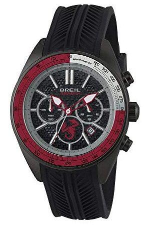 Breil Męski chronograf kwarcowy zegarek z silikonowym paskiem TW1693