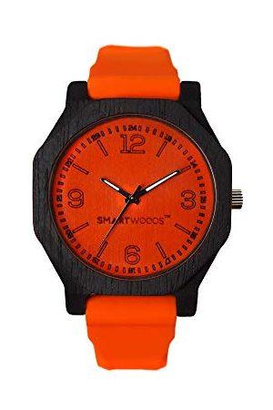 SmartWoods Unisex Dorośli Analogowy Automatyczny zegarek z silikonową bransoletką 5903003180104