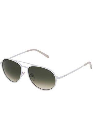 Sting Męskie okulary przeciwsłoneczne SST0045506V6, białe (Blanco), 55.0