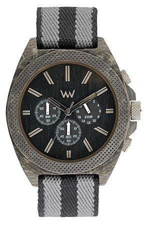 WeWood Mężczyzna Zegarki - Męski chronograf kwarcowy Smart Watch zegarek na rękę z materiałowym paskiem WW56001