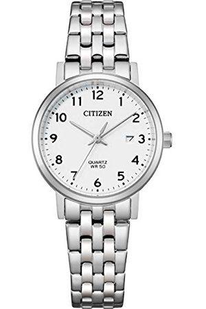Citizen Kobieta Zegarki - Damski analogowy zegarek kwarcowy z bransoletką ze stali szlachetnej EU6090-54A