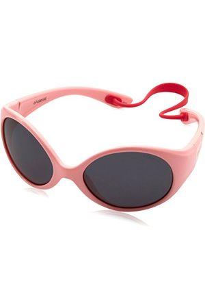 Polaroid Unisex dziecięce okulary przeciwsłoneczne PLD 8010/S Y2 NM9 47, różowe (Ivory Pink/Grey Pz)