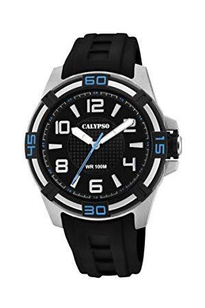 Calypso Calypso zegarki unisex dorosły analogowy klasyczny zegarek kwarcowy z plastikowym paskiem K5760/5