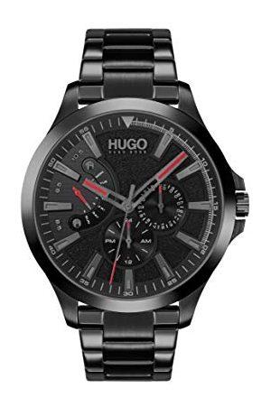 HUGO BOSS Mężczyzna Zegarki - Męski analogowy zegarek kwarcowy z bransoletką ze stali szlachetnej 1530175