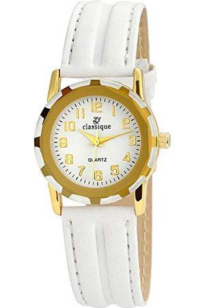 Classique Męski analogowy zegarek kwarcowy ze skórzaną bransoletką RP355020001