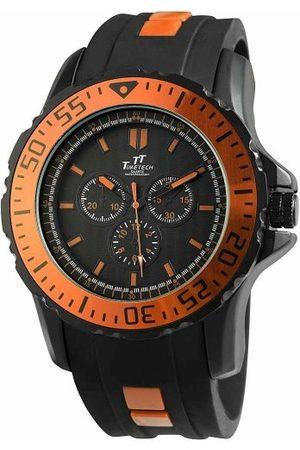 Shaghafi Męski analogowy zegarek kwarcowy z kauczukowym paskiem 227475800013
