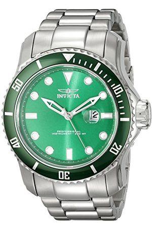 Invicta 20096 Pro Diver męski zegarek na rękę ze stali nierdzewnej kwarc zielona tarcza