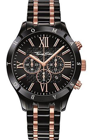 Thomas Sabo Męski zegarek na rękę analogowy kwarcowy stal szlachetna WA0196-268-203-43 mm